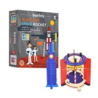 Smartivity Blast Off Space Rocket for 6+ Years Boys and Girls STEM Learning Educational Construction Activity Toy Gift Multi-Color Space Rocket