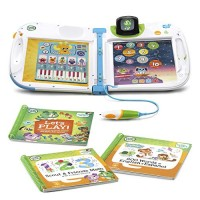 LeapFrog LeapStart 3D Interactive Learning System & 2 Book Combo Pack Friends and Scout Math