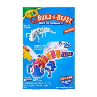 Crayola Build A Beast Dragonfly Model Magic Craft Kit Steam Stem Learning Toys Gift for Kids 5 6 7 8