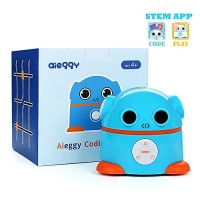 Aieggy Coding Robot for Kids 4+ Educational Toys Remote Control School Learning Kit APP-Enabled STEM Programmable