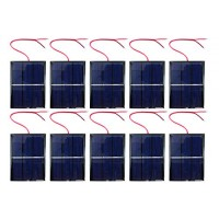 10 Pack xUmp Solar Cells - 15V 400mA 80x60mm for Science STEM Hobby and Electronics Projects