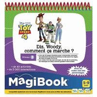 VTech- MAGIBOOK-Toy Story 4-DIS Woody How CA Step Educational Books 80-465005 Multi-Coloured