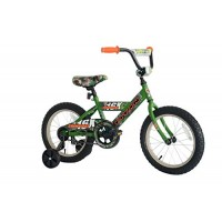 TITAN Champions 16-Inch Boys BMX Bike with Training Wheels Camo