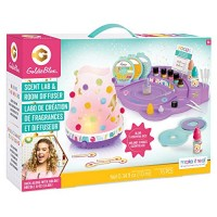 Make It Real GoldieBlox - Scent Lab and Room Diffuser DIY Kit to Fragrance with Essential Oils STEM Arts Crafts for Kids