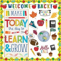 Achort Back to School Banner Welcome Banner for First Day of School Learn Classroom Party Supplies Photo Props Decorations for Kindergarten Pre-school Primary High School