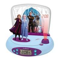LExiBOOK Disney Frozen 2 Radio Alarm Clock Projector