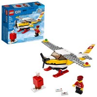 LEGO City Mail Plane 60250 Pretend-Play Toy Fun Building Set for Kids New 2020 74 Pieces