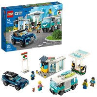 LEGO City Service Station 60257 Pretend Play Toy Building Sets for Kids New 2020 354 Pieces