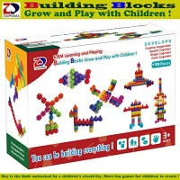ZP ZaoProteks Rich and Colorful Building Blocks STEM Toys Educational Grow Play with Children Block E