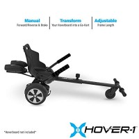 Hover-1 Falcon 1 Hoverboard Seat Attachment Turbo Light Transform Your Hoverboard into Go-Kart
