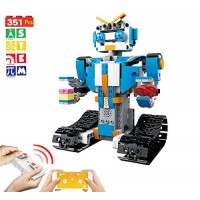 Bix Robot Building Blocks Set- Remote Control App-Enabled Educational Bricks STEM Learning Toys Kits for Boys Girls 5-14 Year Old 351 Pieces
