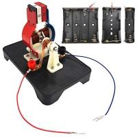 EUDAx STEM DIY Simple Electric Motor DC Motors Model Assemble Kit for Kids Physics Science Educational Toys