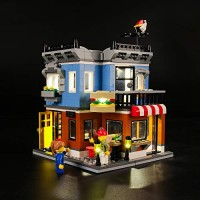 LIGHTAILING Light Set for Creator Corner Deli Building Blocks Model - Led kit Compatible with Lego 31050 NOT Included The Model