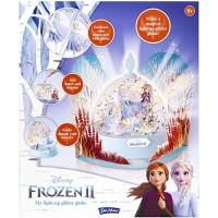 John Adams 10796 Disney Frozen II My Light-Up Glitter Globe