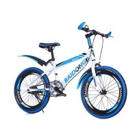 Kids Mountain Bike 20 Inches Carbon Steel Frame Road Bicycle Suitable for Children Aged