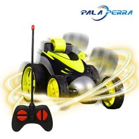 PALA PERRA RC Stunt Cars 360 Degree Spin Flips Remote Control Car Scale 1/24