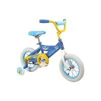 Baby Shark 12 Bike with Removable Training Wheels