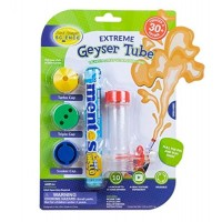 Steve Spangler Science Extreme Geyser Tube Experiment 1 & 3 Additional Caps for Kids Turns Soda Bottle and Mentos into Erupting STEM Activity Classroom Home Use