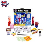 Chemistry Starter Kit Science Kits for Kids Educational Set Learning STEM Toys Boys and Girls Non-Toxic Safe Color Changing Substances Fun School Experiments Children 8 Years an up 49 Pcs