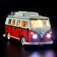 Hima Lighting Kit for Illuminates Lego Creator Series Volkswagen T1 Camper Van - 10220-Not Include The Model-Custom Designed Handmade Durability Tested