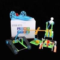 5 Set STEM Kit DIY Toys DC Motors Electronic Robotic for KidsBuilding Science ExperimentsProjects Robot Kits Boys and Girls