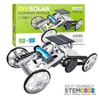 17Tek STEM Educational Solar Robot - Green Energy DIY Science Power Kits