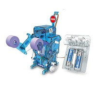 ACToy DIY Robot Kit Fighting Battle Toys Educational Stem Kits Build Your Own for Kids Blue