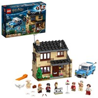 LEGO Harry Potter 4 Privet Drive 75968; Fun Childrens Building Toy for Kids Who