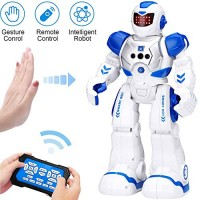KingsDragon Robots for KidsRC Robot Smart Programmable Gesture Sensing ToyInteractive Walking Singing Dancing Birthday Presents Boys Girls 4 5 7 8 9 12 Years Old