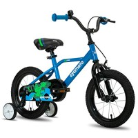 Cycmoto 14 Kids Bike with Hand Brake & Training Wheels for 3 4 5