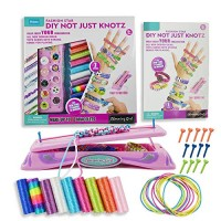 POMIKU Friendship Bracelet Making Kit for Beginners Jewelry Kids Easy & Funny Craft Toy Girls Age 6 and Up