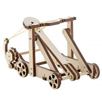 Aristo-craft Catapult STEM Model Kit-DIY Toys Intro to Engineering Building DIY Science Experiment Projects for Boys and Girls