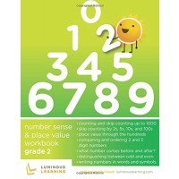 Number Sense and Place Value Workbook - Grade 2: Making Math Visual