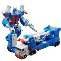 Lensple MFT Transformation MF48 MF-48 Ultra Magnus UM Ver20 City Commander Action Figure Robot Toys with Box