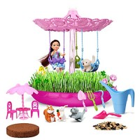 Lydaz Fairy Garden Kits for Kids - Girls Crafts Gardening DIY Toys STEM Educational Playset 3 4 5 6 7 8 9 10 11 12 Year Old