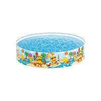 HOMVIA Paddling PoolsKiddie Swimming Pool Outdoor Sports Water Play Toys for ChildrenPaddling Pools for