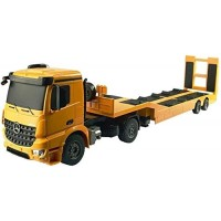 Mercedes Benz Licensed RC Tow Truck Detachable Flatbed Semi Trailer Engineering