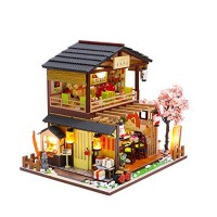 Cool Beans Boutique Miniature DIY Dollhouse Kit Wooden Japanese Sushi Shop (Japanese Sushi Shop)