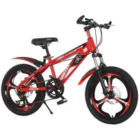 Safety Boys Girls Kids Bike 18-20 Inch Bicycle Front Suspension Aluminum Mountain Bike with