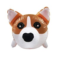 Treasure Gurus 23 Inflatable Corgi Dog Swimming Pool Water Float Blow Up Toy Pet