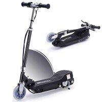 Overwhelming Upgrade E100 Adjustable Handlebar Height Folding Electric Scooter for Kids 160LBS Max Weight