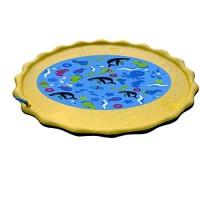 Generies Sprinkler for Kids Splash Pad and Wading Pool for Learning  Childrens Sprinkler