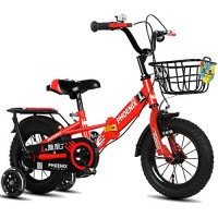 Axdwfd Kids Bike Freestyle Kids Bicycles for Boys and Girls 4 Colors 12 Inch