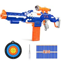IVETTO Toy Guns for Boys with Sound and Foam Bullets 4-in-1 Sniper Rifle Gun