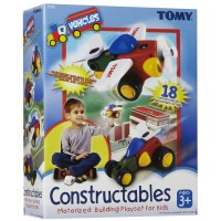 Constructables Motorized Vehicles Building Set