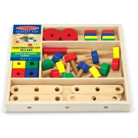 Kids 48 pcs Wooden Construction Set