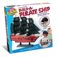 Toy Pirate Ship Playset