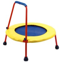Kids Folding Trampoline - Circle Busy Bouncer