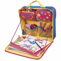 Car Valet Art Travel Case for Kids