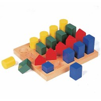 Colored Geo Forms Sorting Toy